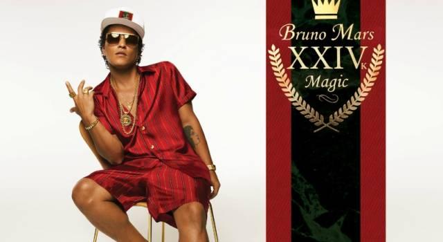 Bruno Mars torna con 24K Magic e collabora con Skrillex