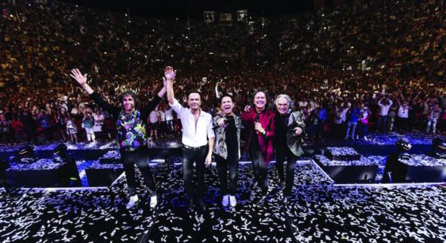 L'addio dei Pooh: a Bologna l'ultimo concerto