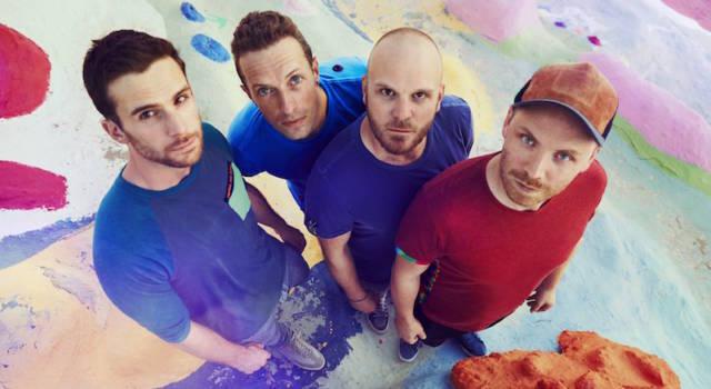 A Head full of Dreams: per i Coldplay ancora il primo posto