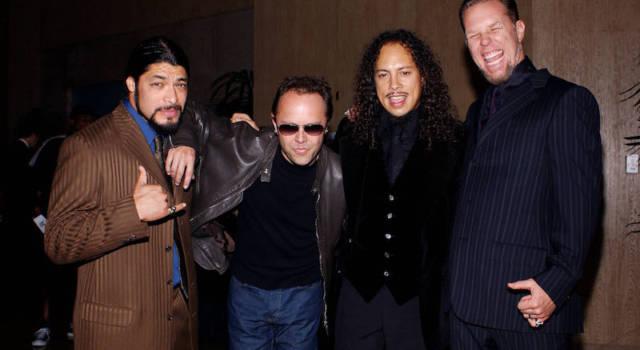 Metallica: il 18/11 live in streaming per tutti
