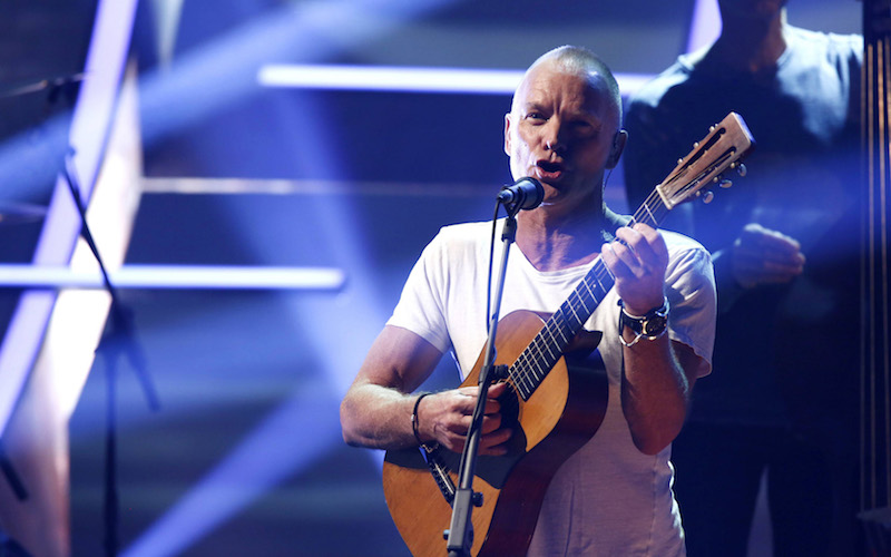 Sanremo 2018 Sting