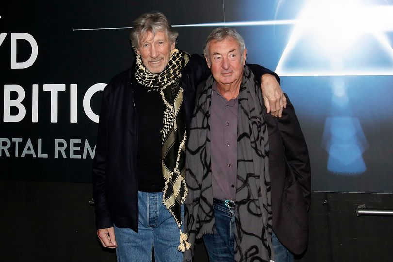 ROGER WATERS NICK MASON