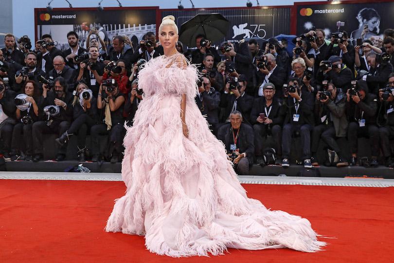 Lady Gaga a Venezia 75