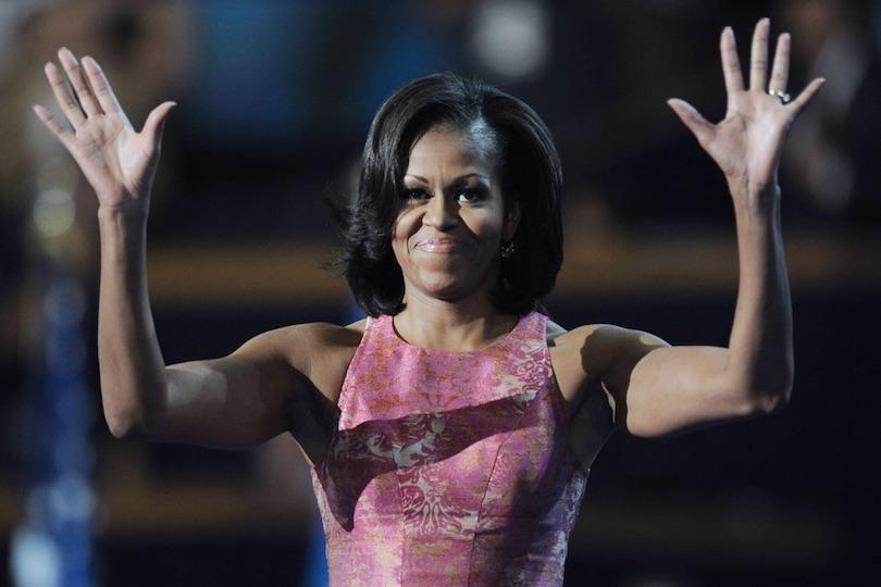 Michelle Obama: Malia, Sasha concepite con fecondazione artificiale