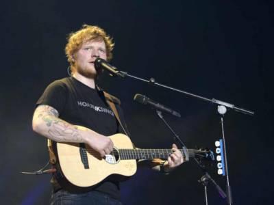 Ed Sheeran diventa rock nel suo nuovo singolo Blow