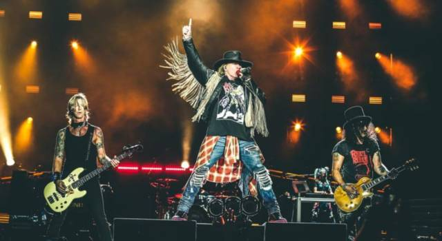 I Guns N' Roses tornano in Italia nel 2020: una data al Firenze Rocks