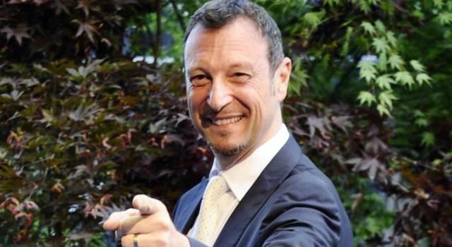 """Sanremo 2021, Amadeus: """"Non sarà il mio secondo Festival, ma il primo dopo il Coronavirus"""""""