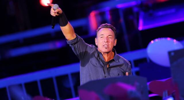 Sanremo Story: l'incredibile performance di Bruce Springsteen