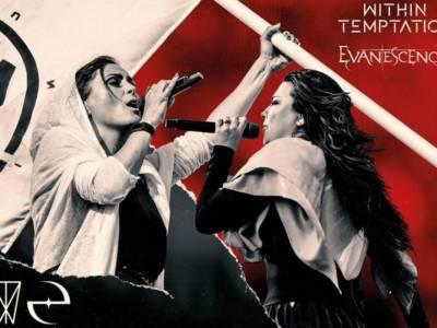 Evanescence e Within Temptation: rinviato al 2022il concerto in Italia