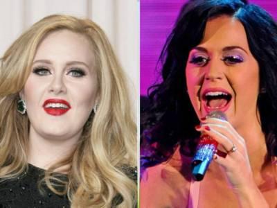 """Katy Perry su Adele: """"Siamo vicine di casa, ma da quando è dimagrita non l'ho più vista"""""""