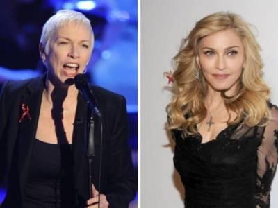 """Annie Lennox contro Madonna dopo il post sul Covid-19: """"Questa è follia"""""""