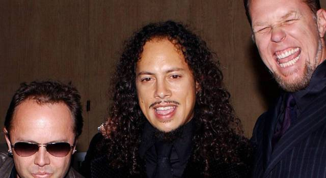 Kirk Hammett, la chitarra solista dei Metallica
