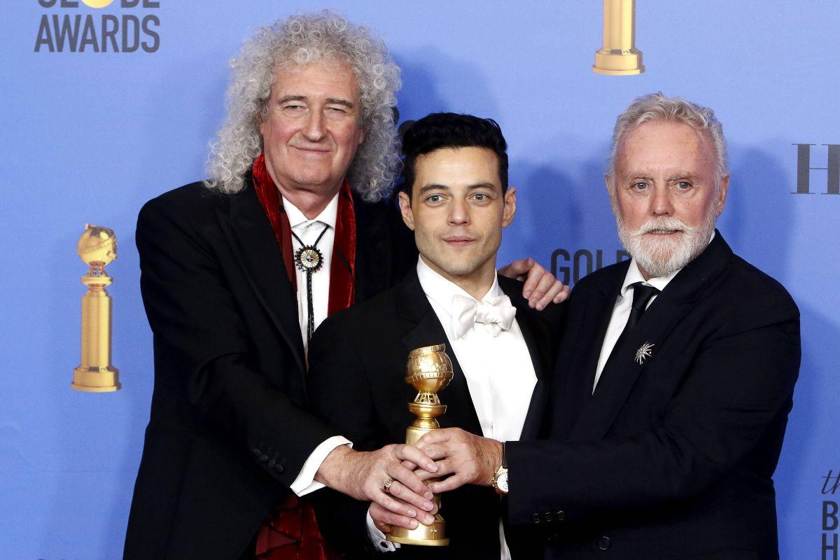 Brian May, Rami Malek e Roger Taylor