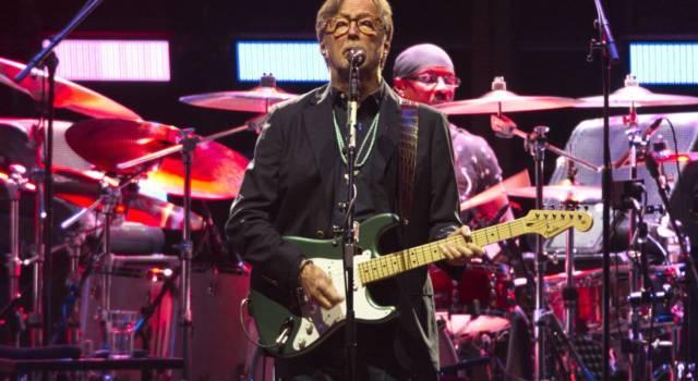 Eric Clapton: spostati al 2022 i concerti in Italia