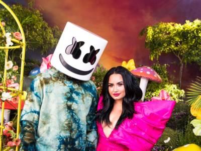 Marshmello e Demi Lovato insieme in Ok Not to Be Ok, il nuovo singolo contro il suicidio