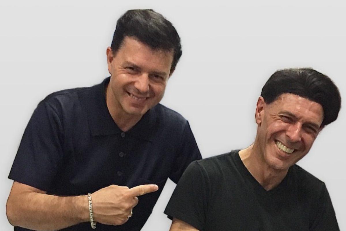 Oscar Giammarinaro ed Ezio Bosso