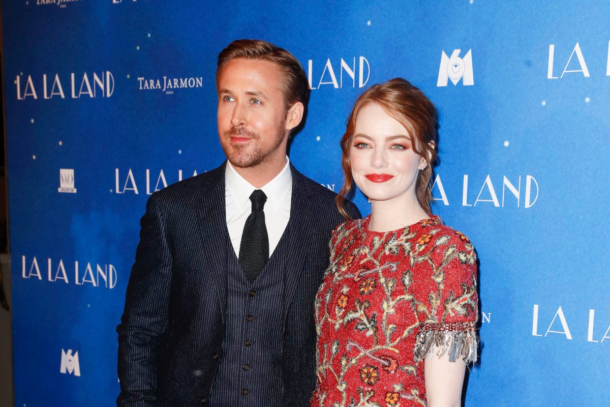 Ryan Gosling ed Emma Stone in La La Land