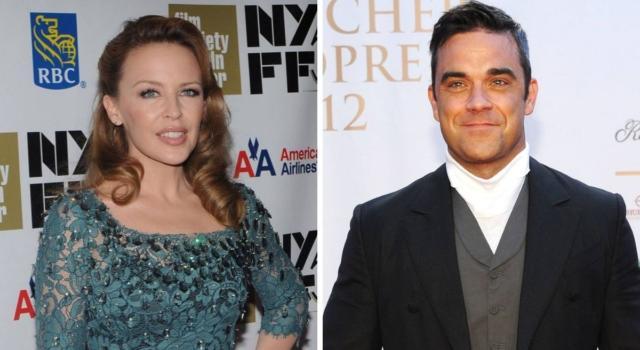 Robbie Williams e Kylie Minogue di nuovo insieme a 20 anni da Kids