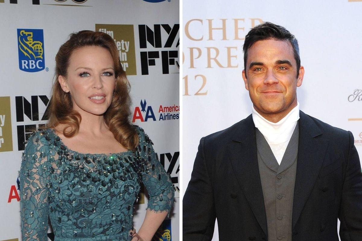 Kylie Minogue e Robbie Williams