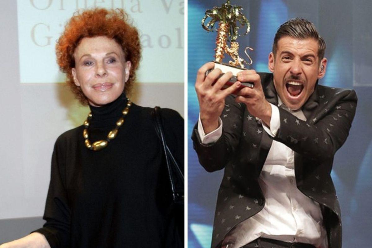 Ornella Vanoni e Francesco Gabbani