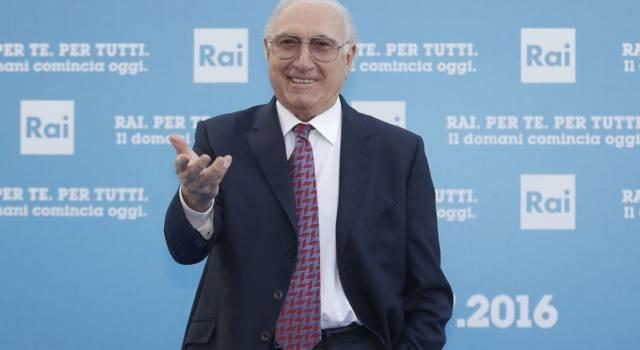"""Pippo Baudo sul discorso di Fedez: """"Io avrei spento le telecamere mentre parlava"""""""
