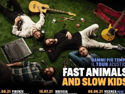 Fast Animals and Slow Kids: tutte le date del tour acustico