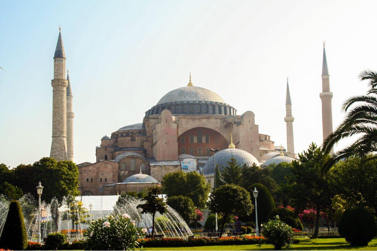 Inno turco, moschea Santa Sofia Istanbul