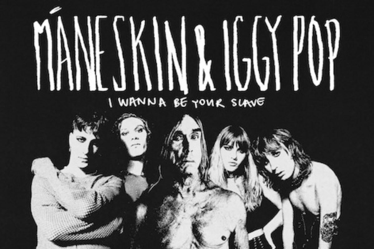 Maneskin con Iggy Pop