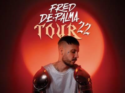 Fred De Palma annuncia le date del suo primo tour