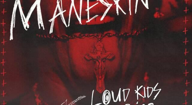 Loud Kids on Tour: le date dei nuovi concerti dei Maneskin